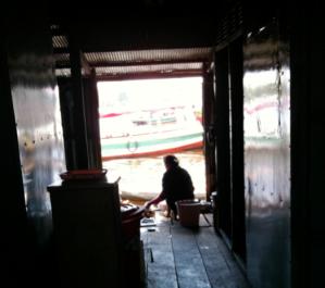 Cambodian Floating Restaurant 1