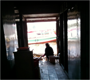 Cambodian Floating Restaurant 1