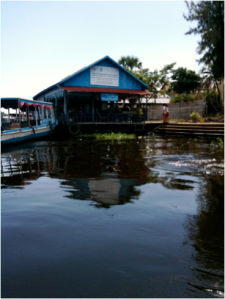 Cambodian Floating Restaurant 2