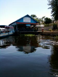 Cambodian Floating Restaurant 2