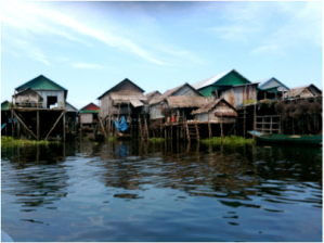 Cambodian Floating Village 1