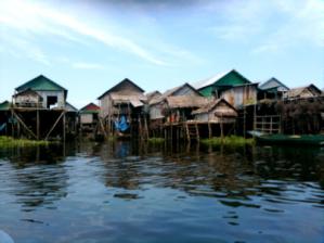 Cambodian Floating Village 1