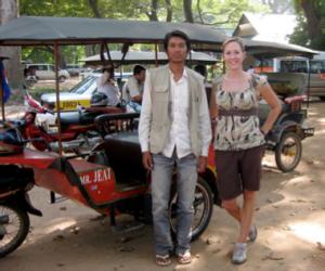 My Cambodian Tuk Tuk Driver
