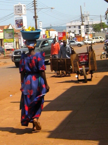Jinja, Uganda- The style of dress different from Kenya