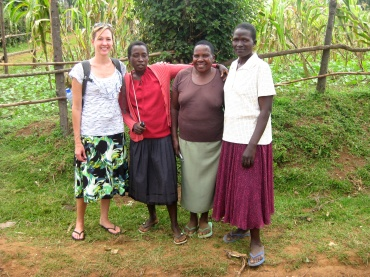 Kiva Zip borrowers and gracious hostesses
