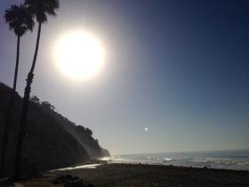Morning run in Santa Barbara