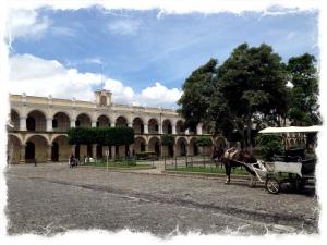Parque Central, Antigua, Guatemala
