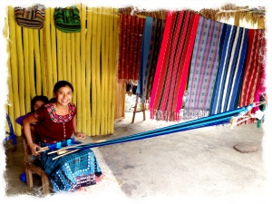 The San Juan La Laguna Women's Coop.  Lovely scarfs and a good cause.